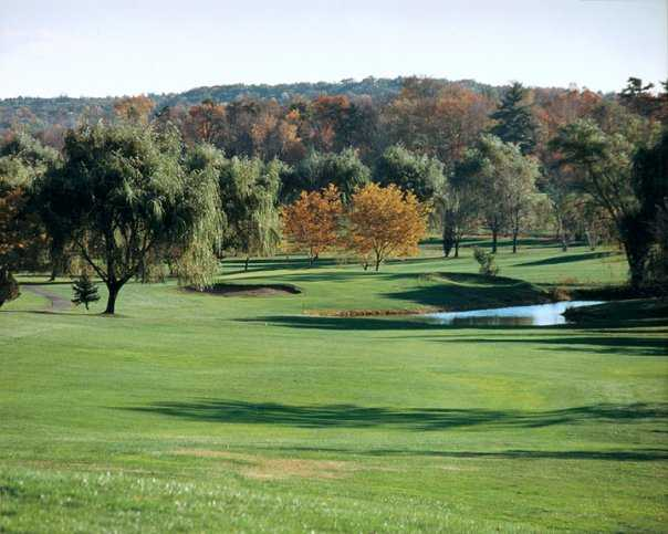 A view from Rondout Golf Club