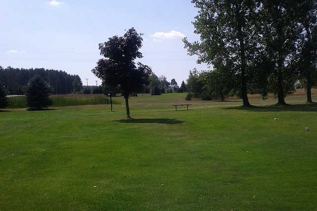 A view from Alpine Meadows Golf Course
