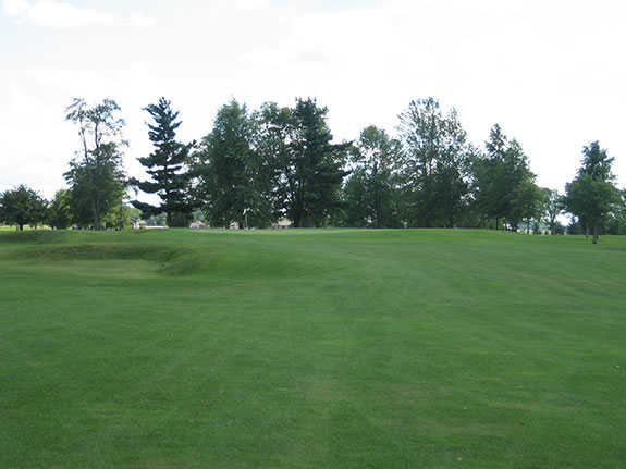 A view from a fairway at Beeson 9 from Winchester Golf Club