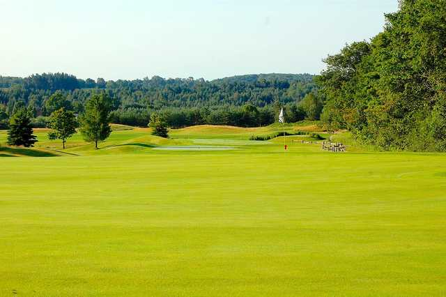 A view of the 7th hole at Black Diamond Golf Club
