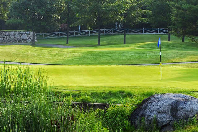 A view of a hole at Carlisle Golf and Country Club