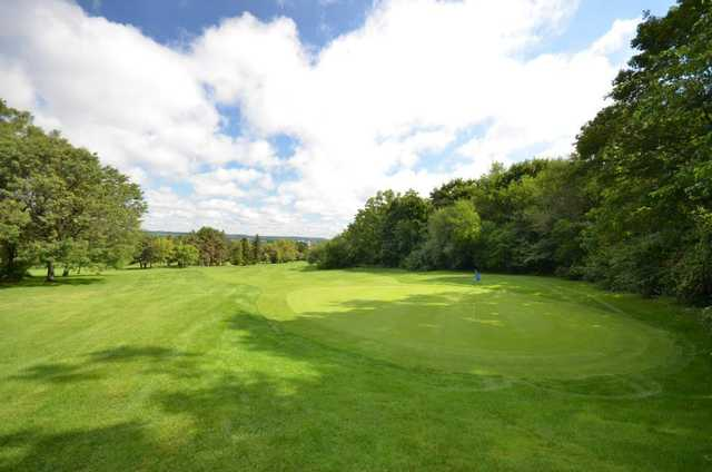 View of a green from the Martin Course at Chedoke Civic Golf Club