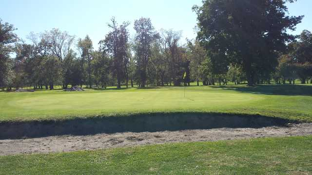 View of the 2nd hole at South Park Golf Course