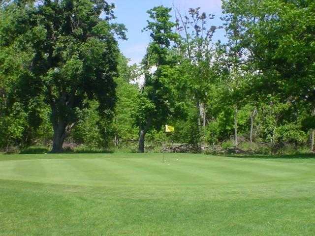 View of a green at South Park Golf Course