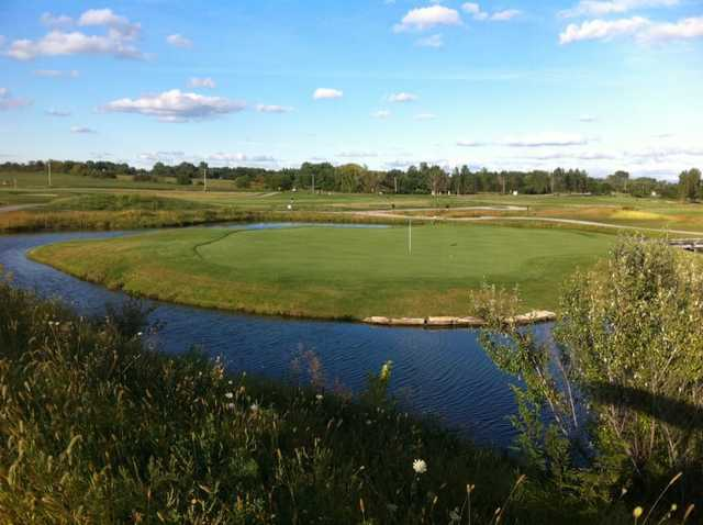 View of an island green at Green Garden Country Club
