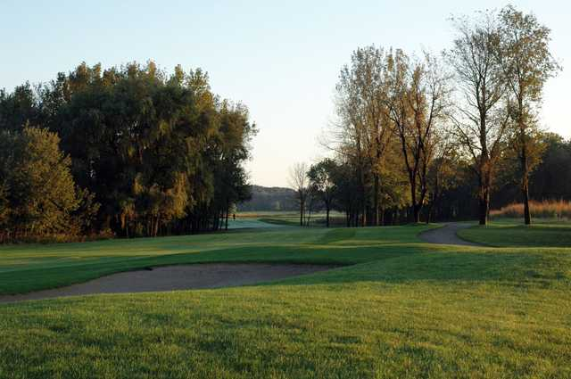 View of a green at The Sanctuary Golf Course