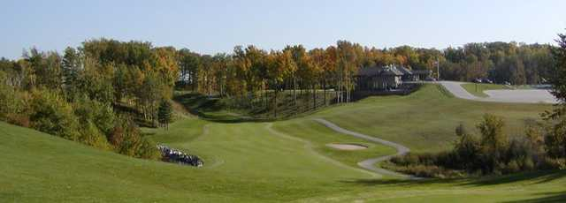 View of the 1st green from Autumn Ridge Golf Course