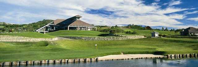 View of the clubhouse at Plum Creek Golf & Country Club