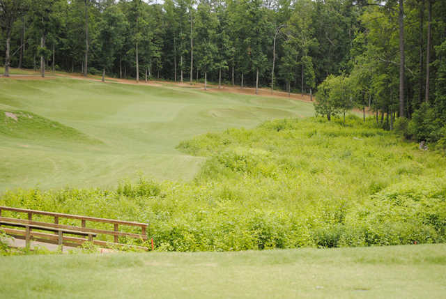 View of a fairway and green at Eagle's Brooke Golf and Country Club