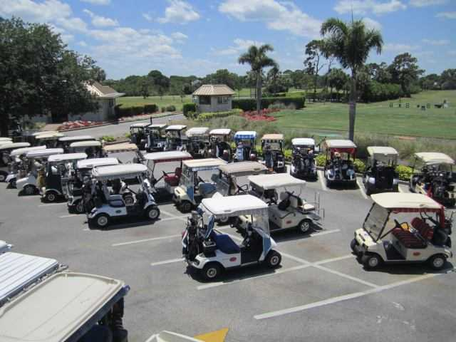 A view from Suntree Country Club