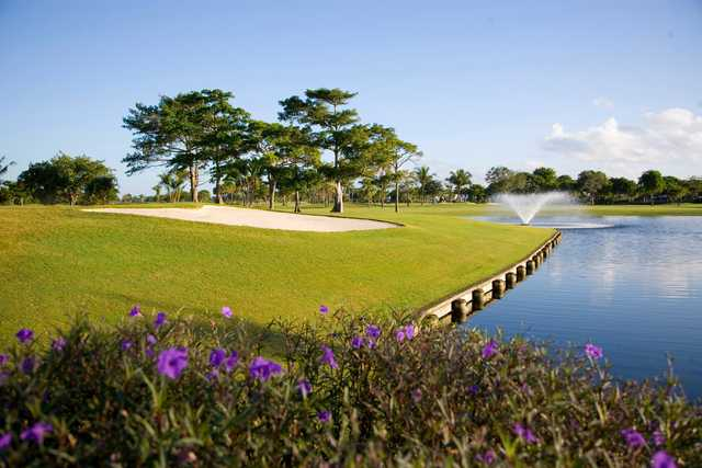 A sunny day view from Coral Ridge Country Club