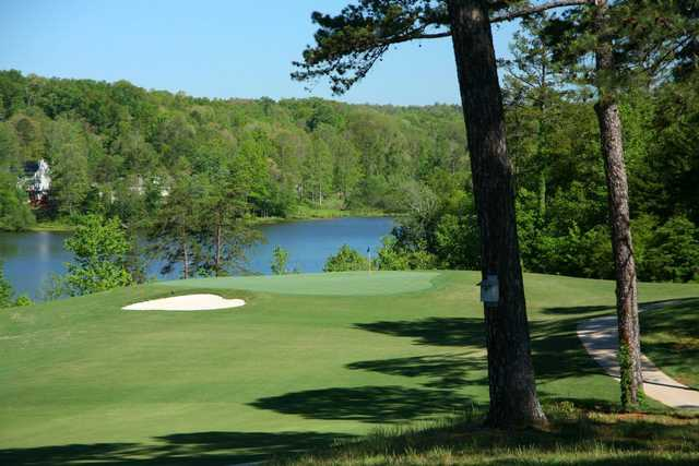 View of a green from Chattahoochee Golf Club