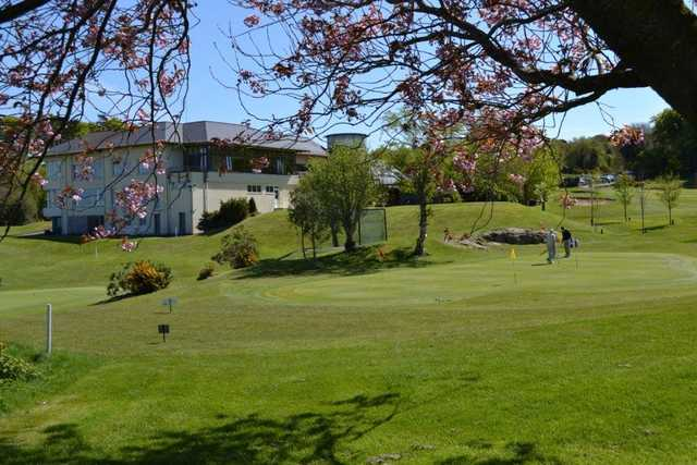 View of the clubhouse at Clandeboye Golf Club