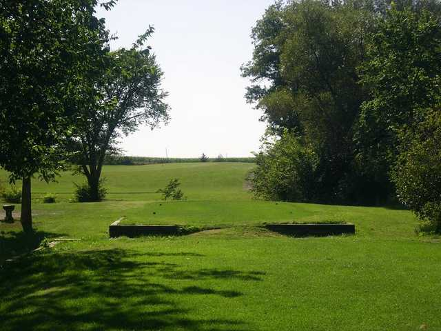 Sandusk GC: View from behind the 7th tee