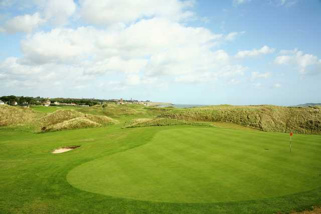 View of a green at Corballis Golf Links