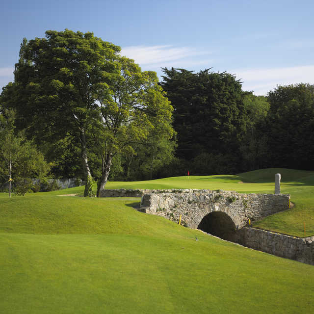 View of the 14th hole at Edmondstown Golf Club