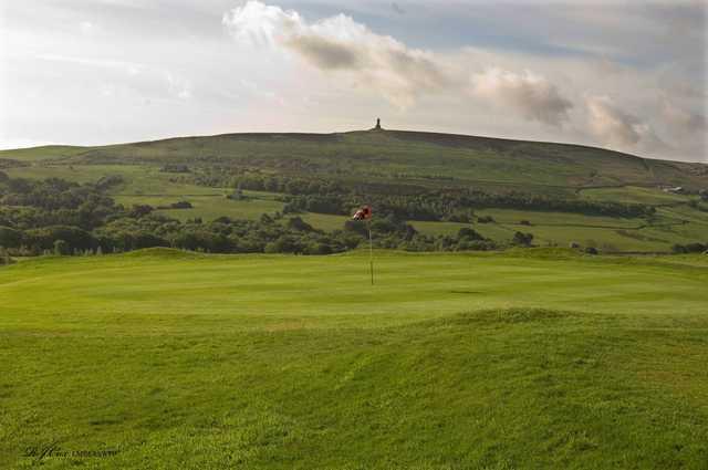 View of a green at Darwen Golf Club