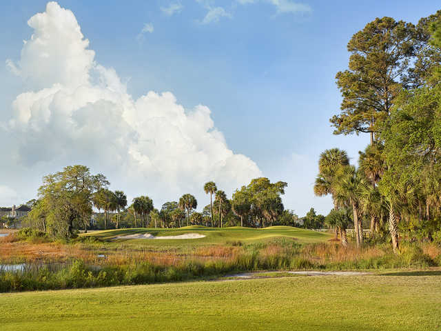 A beautiful view from the Old South Golf Links