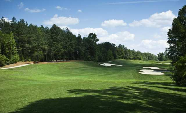 A view of the 9th fairway at West from Grandover Resort