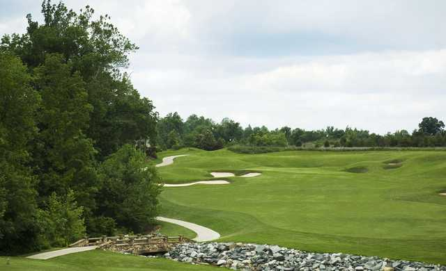 A view of the 4th green at West from Grandover Resort