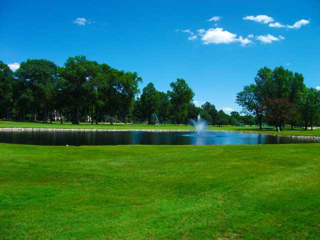A view over the water from Detroit Golf Club