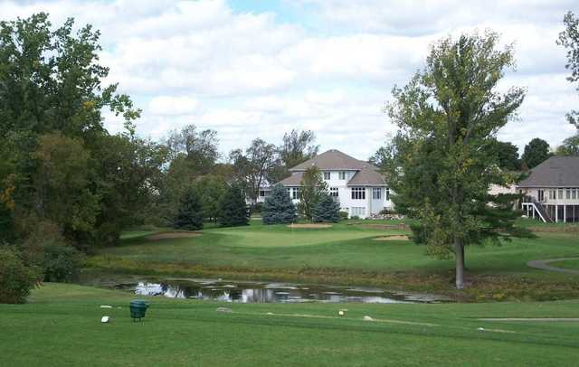 View of a green at Wallinwood Springs Golf Club
