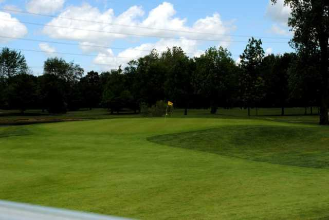 View of a green at Golden Hawk Golf Club