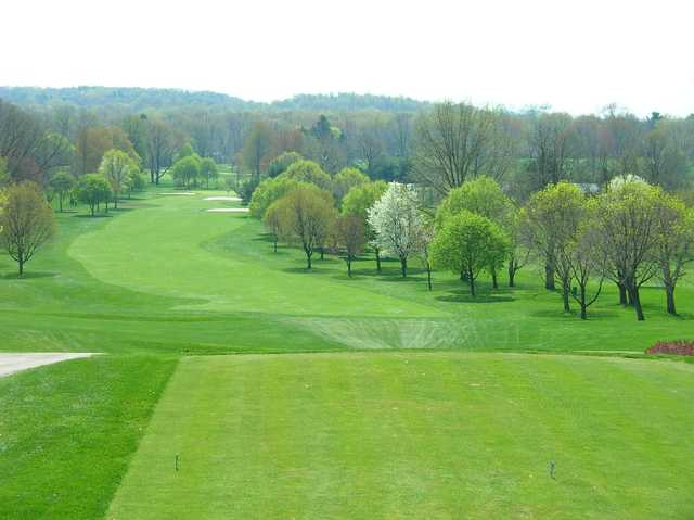 View from the 6th tee at Turkeyfoot Lake Golf Links