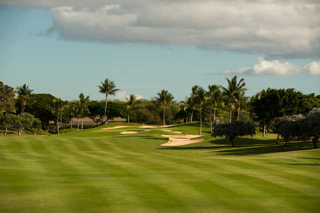 View of the 1st hole at Ko Olina Golf Club