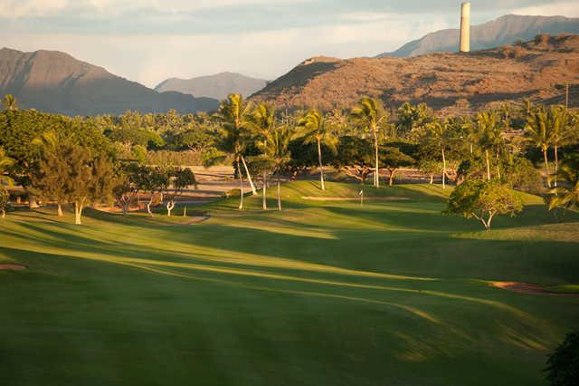 View of the 7th hole at Ko Olina Golf Club