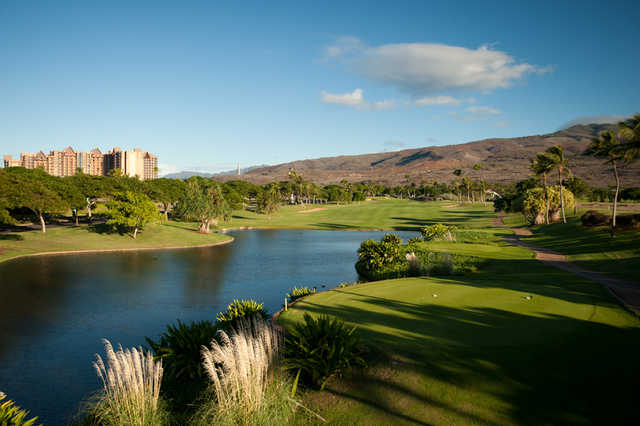 View from the 9th tees at Ko Olina Golf Club