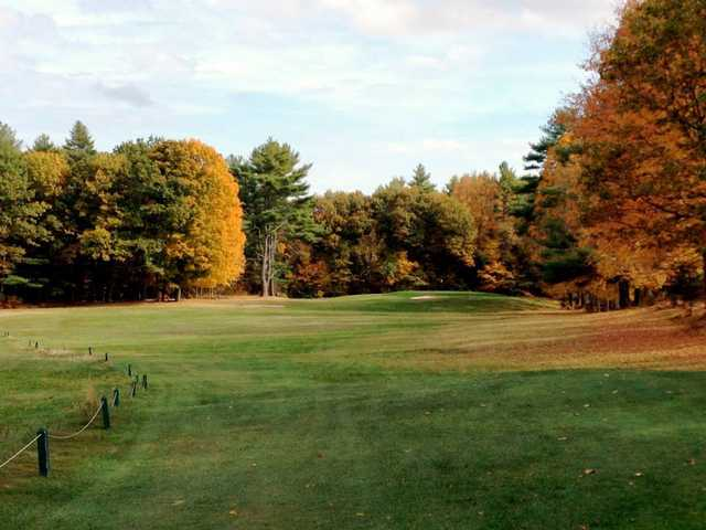 A fall view from Salmon Falls Golf Club