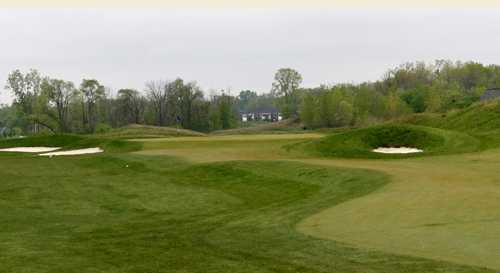 A view of hole #10 at Glacier Club
