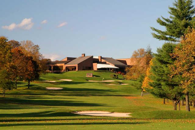 A fall view from Tam O'Shanter Golf Club