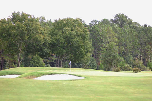 View of the 10th hole at Country Club of Orange Park.