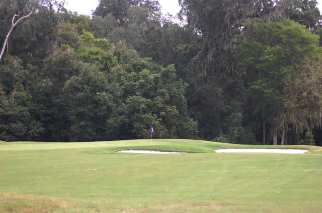 View of the 13th hole at Country Club of Orange Park.
