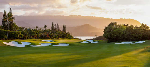 View from #2 on the Makai Course at Princeville Makai Golf Club