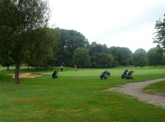 A view of a green at Hinckley Golf Club