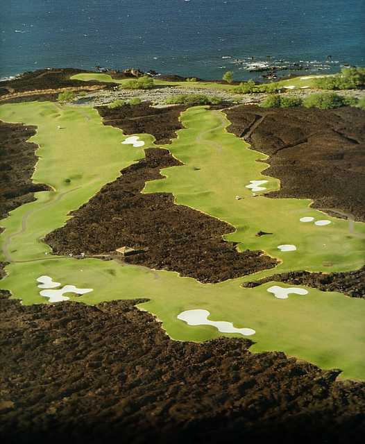 South at Mauna Lani Resort - Aerial view