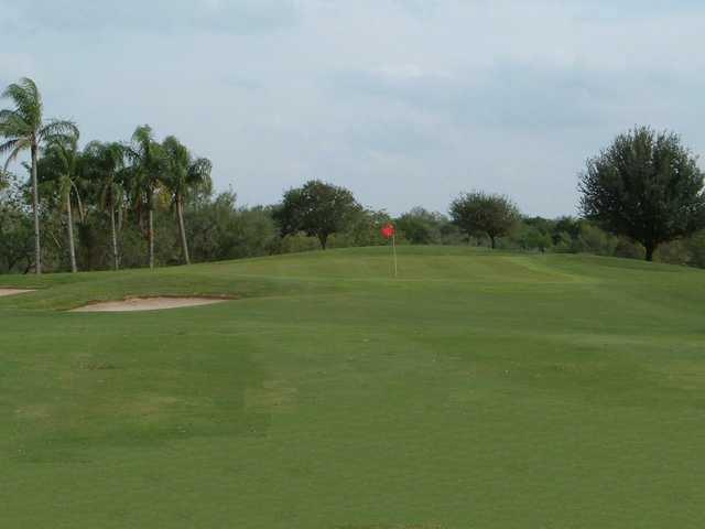A view of a green at Treasure Hills Golf Club