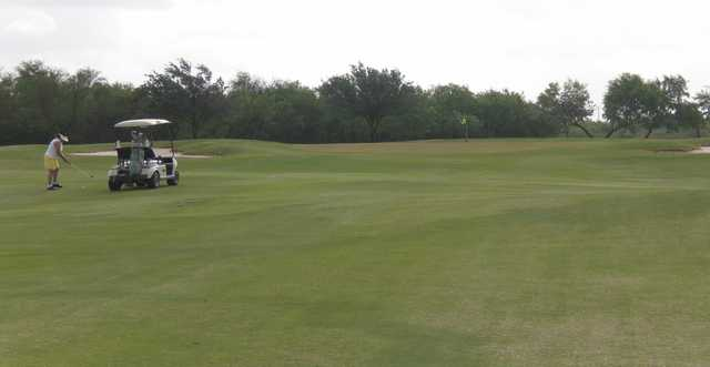 A view of the 4th green at Treasure Hills Golf Club