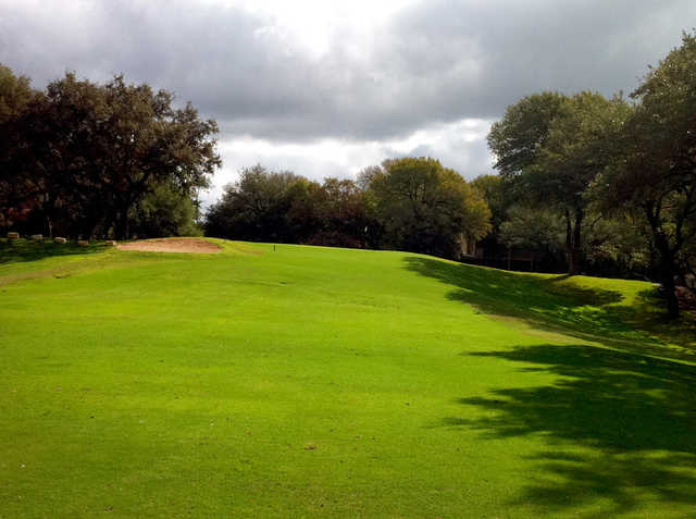 View of the 17th hole at Quicksand Golf Course