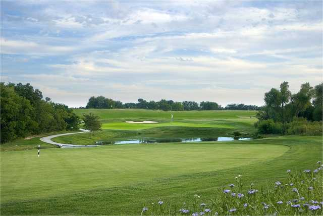 View of a green at The Bridges Golf Club