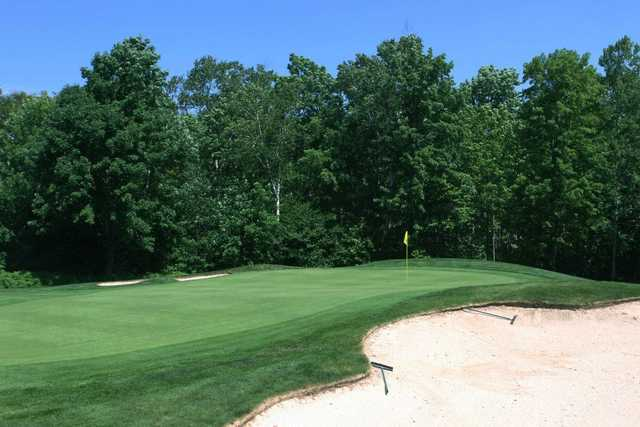 A view of green #1 at Sugarloaf Golf Club