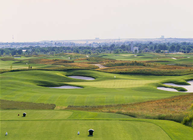 A view from a tee at Three Crowns Golf Club (Rob Perry).