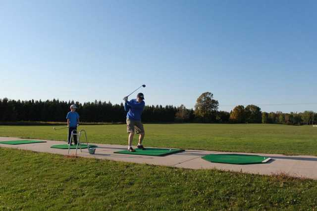A view of the driving range at 27 Pines Golf Course (Denise Willis Stillman)