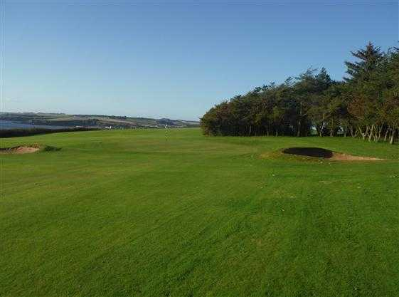 A view of hole #9 at Stonehaven Golf Club
