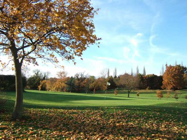 A vibrant fall view from Canons Brook Golf Club