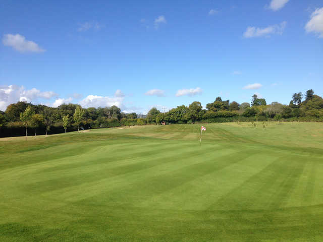 A view of hole #6 at Bovey Tracey Golf Club