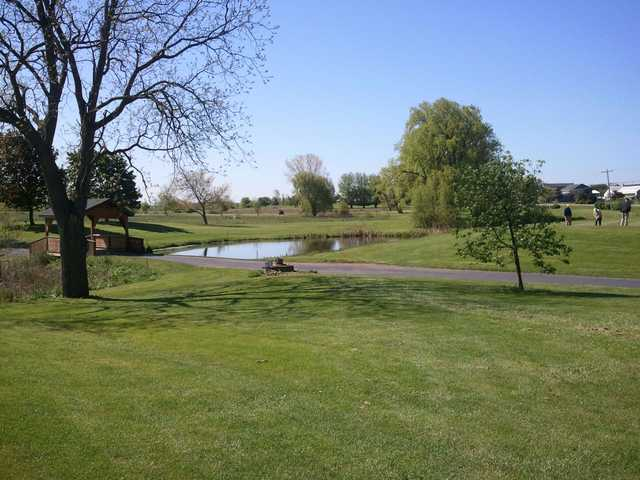 A sunny day view from Batavia Country Club